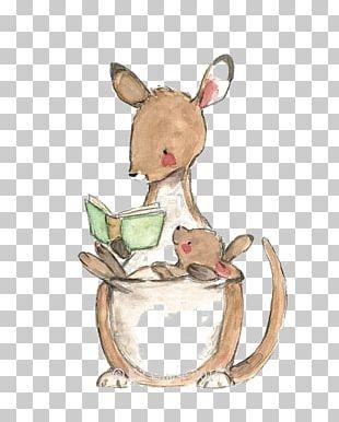 Paper Kangaroo Drawing PNG