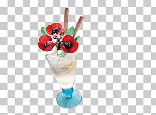 Sundae Knickerbocker Glory Parfait Frozen Yogurt Ice Cream PNG