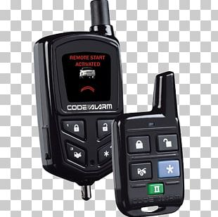 Car Alarm Remote Starter Alarm Device Remote Keyless System PNG