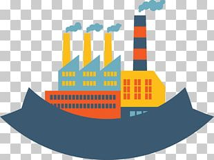Power Station Building Icon PNG