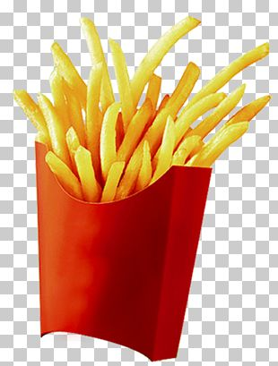 French Fries Frying PNG
