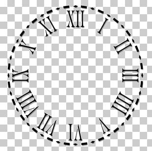 Clock Face Roman Numerals Numeral System PNG
