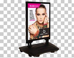 Sandwich Board Advertising Poster Sidewalk Billboard PNG