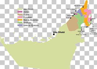 Abu Dhabi Dubai Sharjah Blank Map PNG
