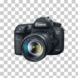 Canon EOS 7D Mark II Canon EF-S 18–135mm Lens Digital SLR PNG
