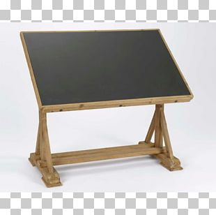 Table Writing Desk Architect Drawing Board Wood PNG
