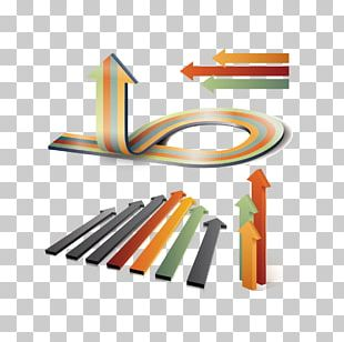 Three-dimensional Space Arrow PNG