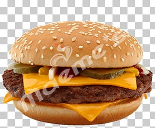 McDonald's Quarter Pounder McDonald's Big Mac McDonald's Chicken McNuggets Cheeseburger Hamburger PNG