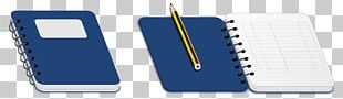 Notebook Pencil Paper PNG