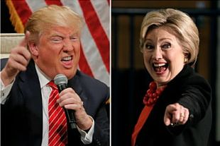 Hillary Clinton Donald Trump United States US Presidential Election 2016 Trump Vs. Clinton PNG