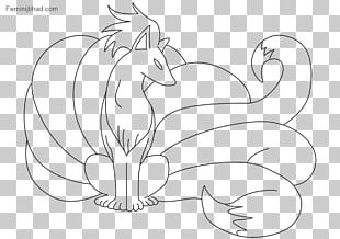 Pokémon Sun And Moon Vulpix Ninetales Coloring Book PNG