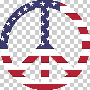 Flag Of The United States Peace Symbols PNG