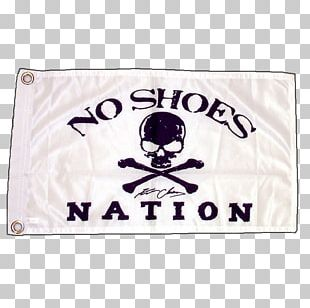 No Shoes Nation Tour T-shirt Live In No Shoes Nation Pirate Flag PNG
