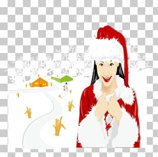 Santa Claus Christmas Ornament Illustration PNG