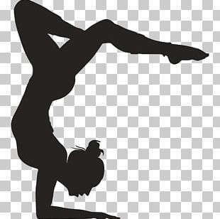 Artistic Gymnastics Wall Decal Sticker PNG