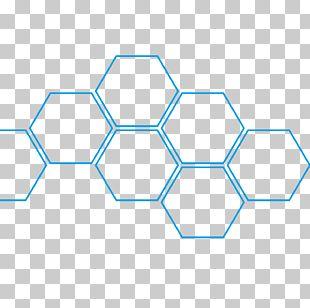 Hexagon Honeycomb Fullerene Beehive Angle PNG