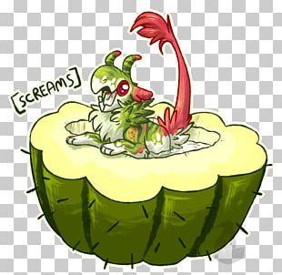 Watermelon Frog Flowerpot PNG