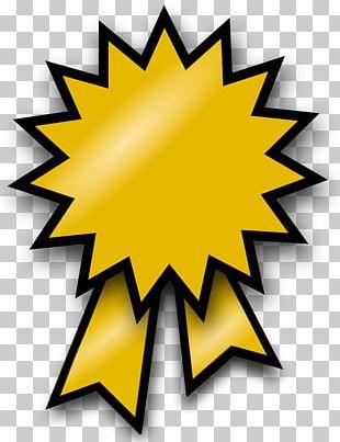 Gold Medal Ribbon Silver Medal Award PNG