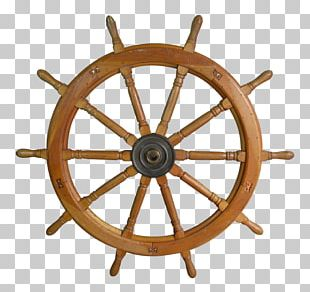 Ship's Wheel Wood Helmsman PNG