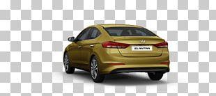 2016 Hyundai Elantra Mid-size Car Family Car PNG