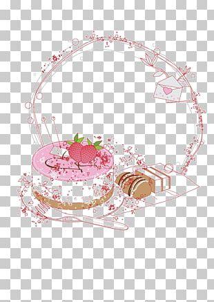 Birthday Cake Panna Cotta Dessert PNG