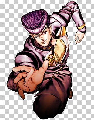 Josuke Higashikata JoJo's Bizarre Adventure: All Star Battle T-shirt Diamond Is Unbreakable PNG
