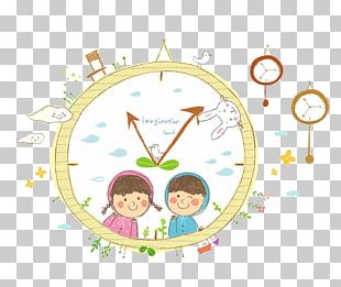 Watch Cartoon Painting Illustration PNG
