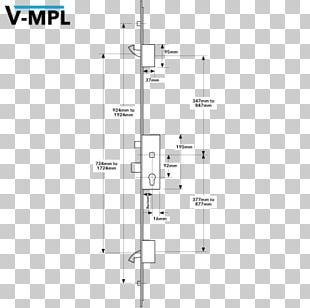 Line Angle Lock Household Hardware PNG
