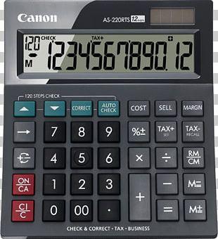 Scientific Calculator Canon Calculation PNG