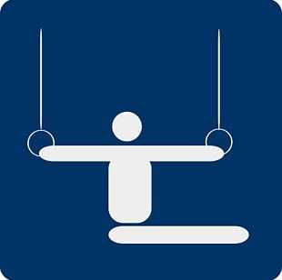 Artistic Gymnastics Pictogram PNG