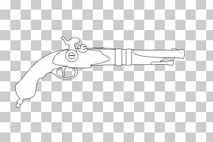 Line Art Weapon White Finger PNG