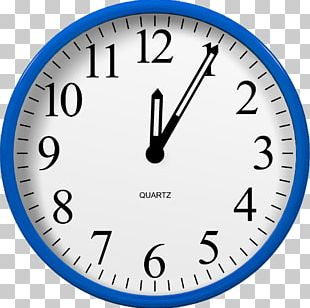 Clock Face Number PNG