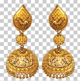 Earring Amazon.com Jewellery Costume Jewelry Gold PNG
