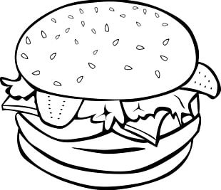 Hamburger Cheeseburger Slider Hot Dog French Fries PNG