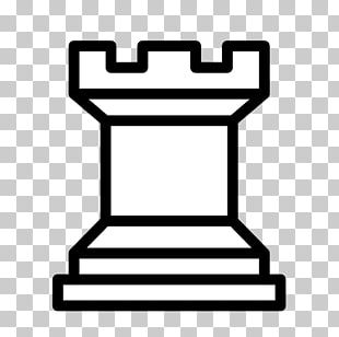 Chess Piece Rook King Chessboard PNG
