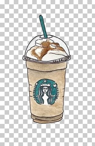 Coffee Starbucks Cafe Drawing Drink PNG
