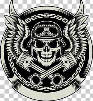 Motorcycle Helmets Stock Photography Skull PNG