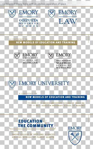 Web Page Organization Emory University Logo Brand PNG
