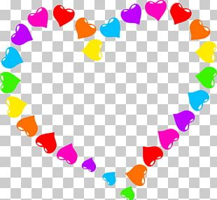 Heart Rainbow Stock Photography PNG