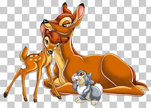 Bambi's Mother Thumper Mickey Mouse PNG
