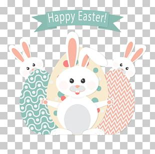Easter Bunny Rabbit Euclidean Easter Egg PNG