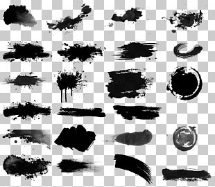 Ink Brush Drawing Inker PNG