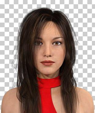 Layered Hair Avatar Chatbot 3D Computer Graphics PNG