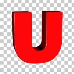 Letter Alphabet U Character Font PNG