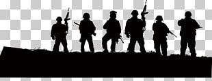 Soldier Silhouette Army Illustration PNG