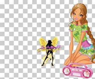 Flora Bloom Art Winx Club PNG