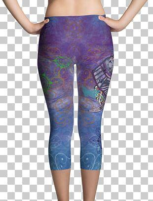 Leggings T-shirt Capri Pants Textile PNG