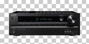 Home Theater Systems AV Receiver Onkyo HT S4505 Home Theater System PNG