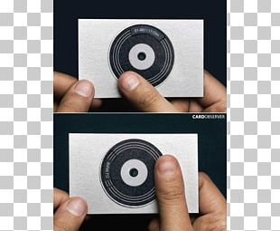 More Business Cards Creative Business Cards Business Card Design Disc Jockey PNG