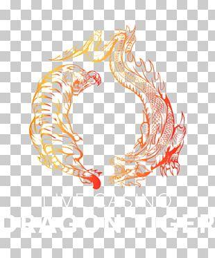 Tiger Yin And Yang Dragon Symbol PNG